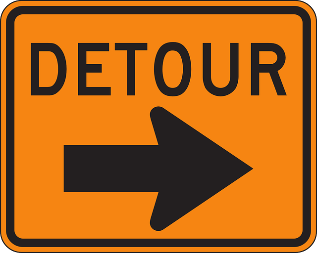 Upcoming Detour at the intersection of Brisbon Rd. and SR 144